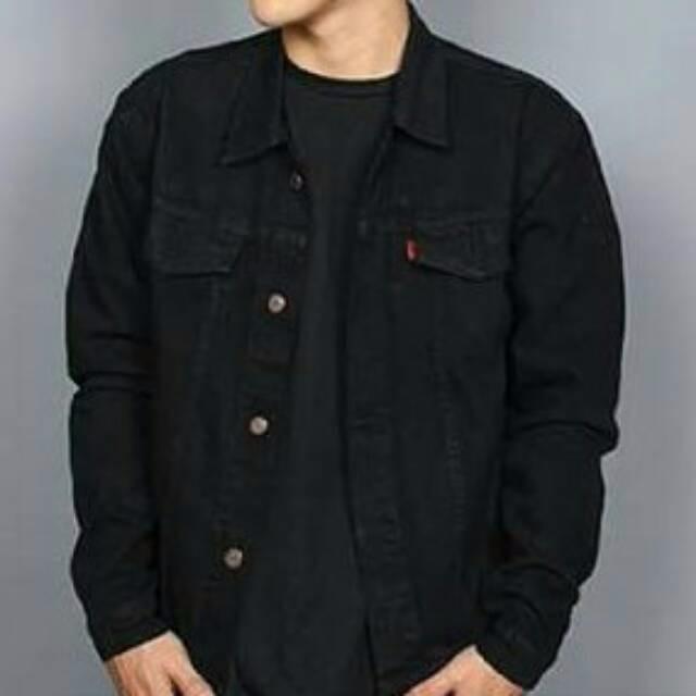 Gudang Fashion Jaket Jeans Berkerudung Hitam - Info Harga Terbaru ... 403f930c47