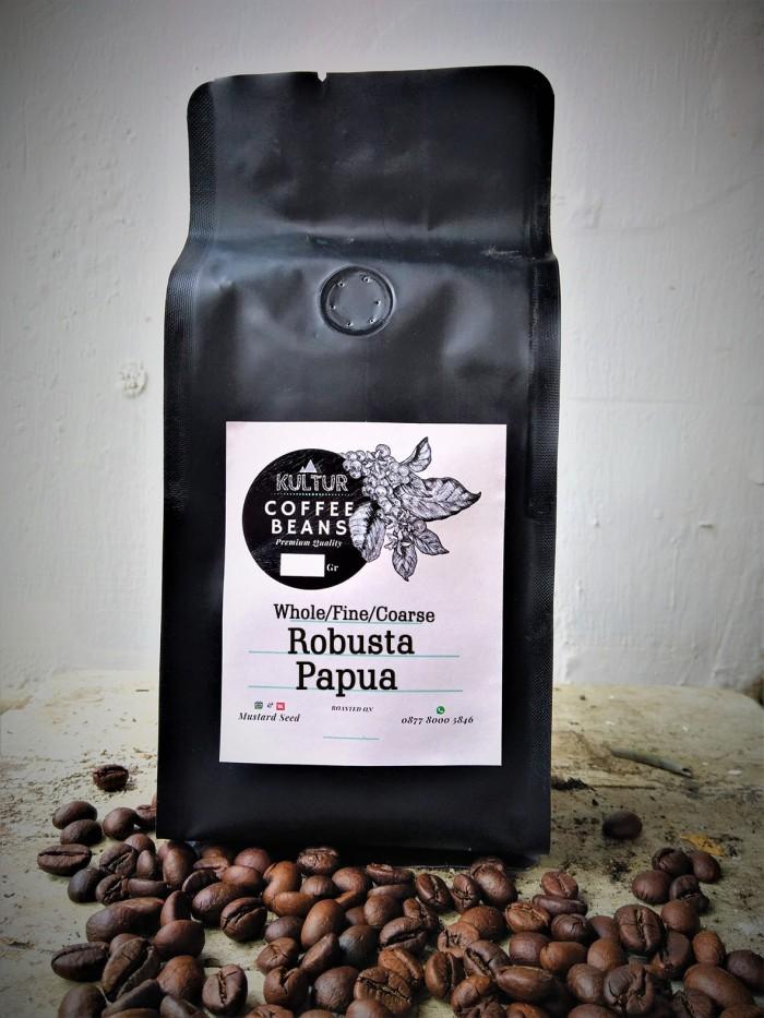 Coffee bean biji kopi robusta papua 1 kg