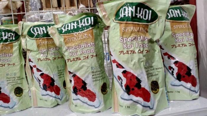 Makanan ikan koi san koi spirulina 1 kg