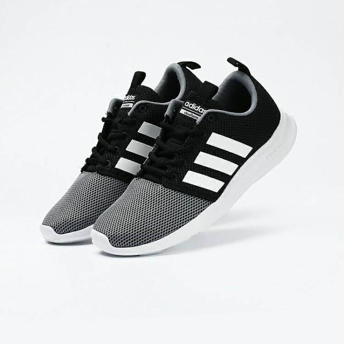 af0c6ea264b34 ... shop original sepatu adidas mens neo cloudfoam swift racer shoes 9d7d7  6a387