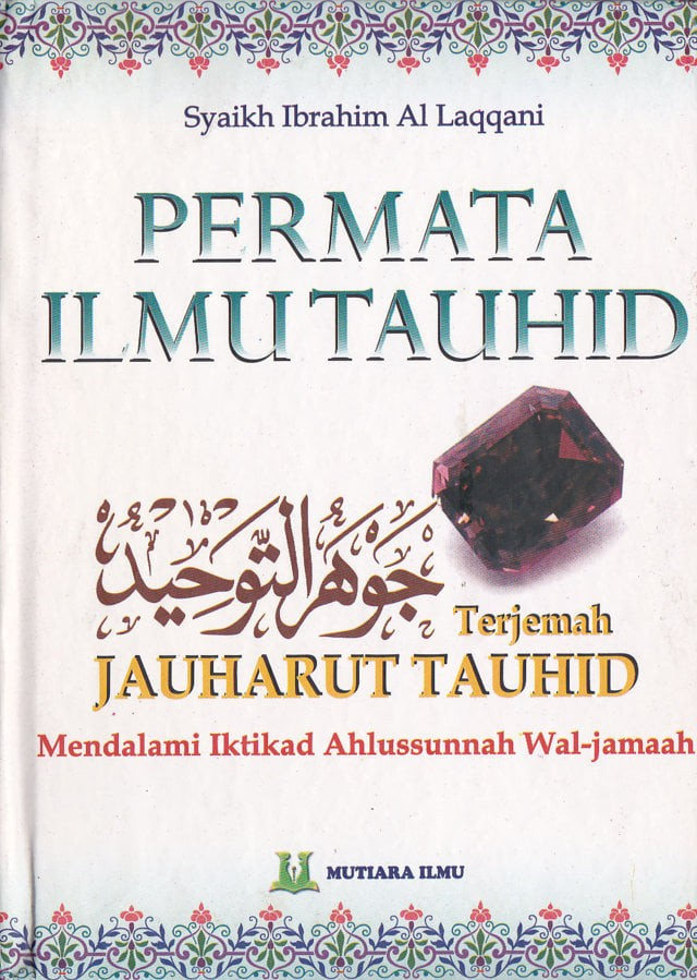 harga Permata ilmu tauhid terjemah jauharut tauhid - mutiara ilmu - hvs Tokopedia.com