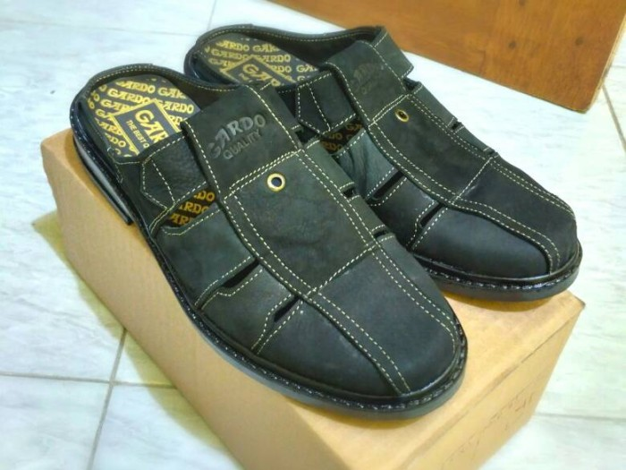 harga Sepatu sandal selop gardo casual santai pria Tokopedia.com