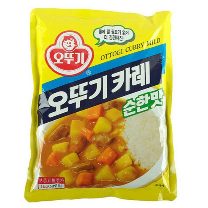 Ottogi korean curry mild powder 1kg bumbu kari korea halal