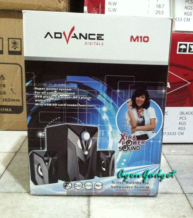 Speaker Advance M-10 Bluetooth