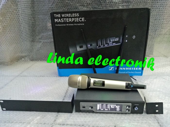 harga Murah mic wireless sennheiser ew 135 g4 champagne single Tokopedia.com