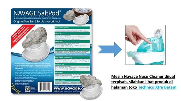 Jual Navage Saltpod 30 Pcs Saline Concentration Capsules For Nose