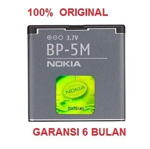 harga 100% original nokia battery bp-5m / 8600 luna, 7390, 7290, 6500 slide Tokopedia.com