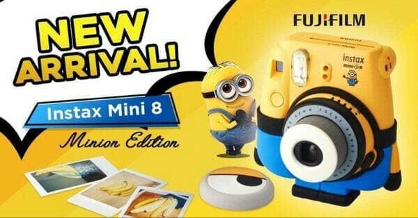 Foto Produk Fujifilm Camera Instax Mini 8 kamera Minion Limited Edition Resmi dari poopstore