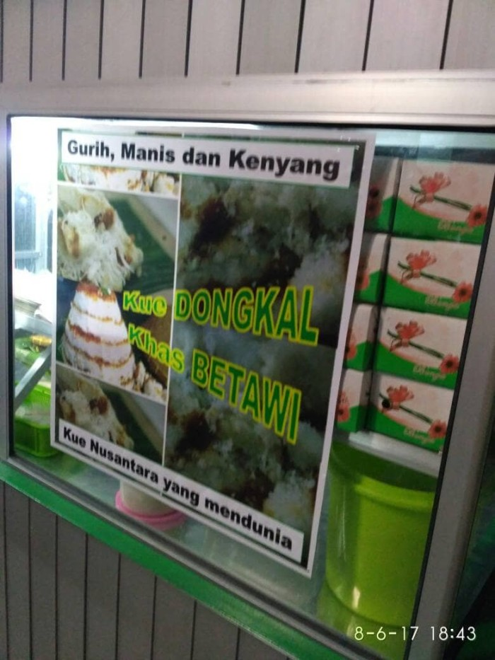 Jual Kue Dongkal Khas Betawi Tangerang Kota Tangerang Shobiyyun