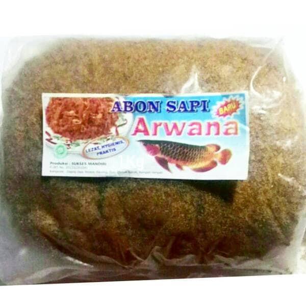 Foto Produk Abon Sapi Cap Arwana 1 Kg dari toko dua putra