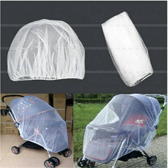 harga Kelambu kereta dorong bayi / baby stroller mesh karet penuh Tokopedia.com