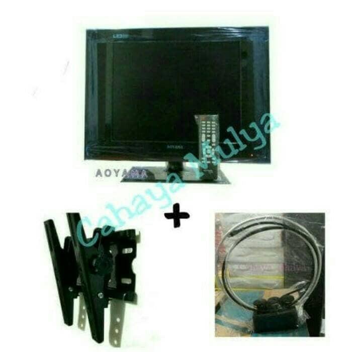 harga Televisi aoyama 15  led + brackett tv maxxis 10 -32  + antena indoor Tokopedia.com