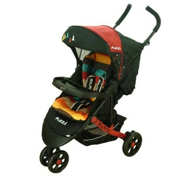 harga Stroller pliko milano roda tiga / kerata dorong bayi Tokopedia.com