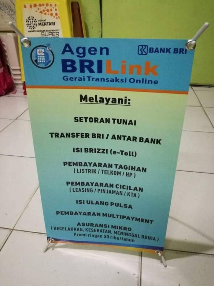 Jual Mini X Banner Agen Brilinks Media Promosi Jakarta Barat Faliha Online Tokopedia