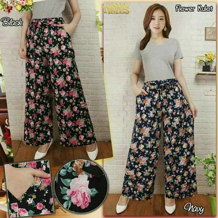 Cj collection Celana batik kulot rok panjang wanita jumbo long pant Annie. Source · Chp1151