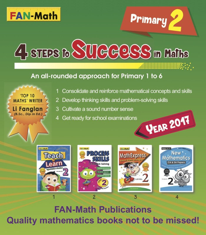 harga Fan-math primary 2 success in math pack 2017 Tokopedia.com