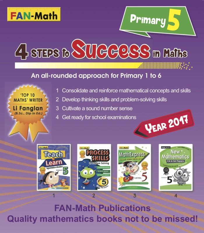 harga Fan-math primary 5 success in math pack 2017 Tokopedia.com