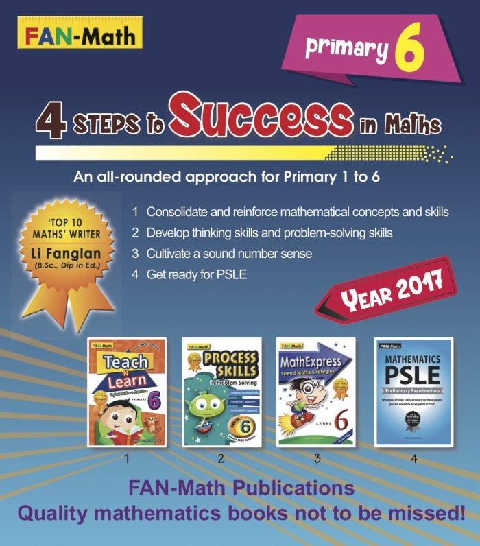 harga Fan-math primary 6 success in math pack 2017 Tokopedia.com