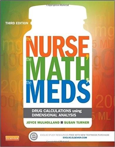 harga The nurse the math the meds: 3ed Tokopedia.com
