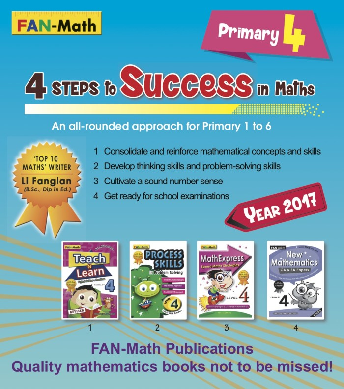 harga Fan-math primary 4 success in math pack 2017 Tokopedia.com