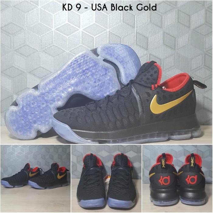 harga [free shoes bag]sepatu basket kd 9 gold medal / nike / kobe / kyrie Tokopedia.com