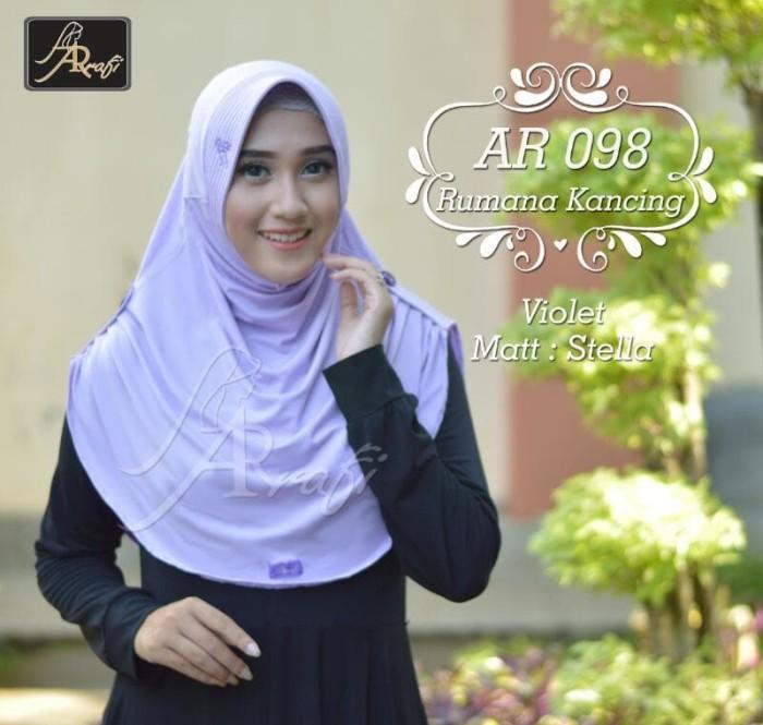 Jilbab Instan Arrafi Bergo Kancing Syari Warna Red Ar125 Hijab Source · Hijab Arrafi elevenia Source