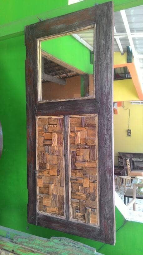 Jual hiasan dinding kayu jati daur ulang recycle board teak wood hiasan dinding kayu jati daur ulang recycle board teak wood thecheapjerseys Gallery