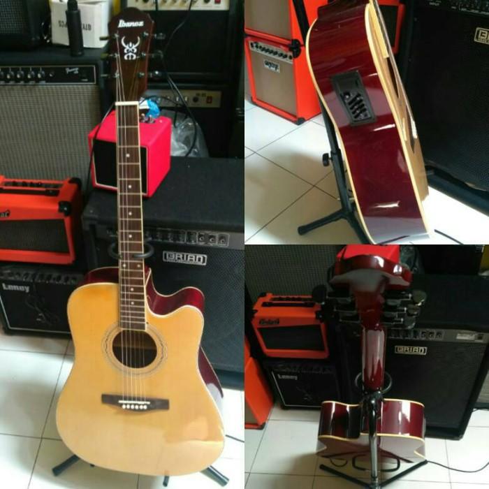 harga Gitar akustik elektrik ibanez eq 7545 r natural Tokopedia.com