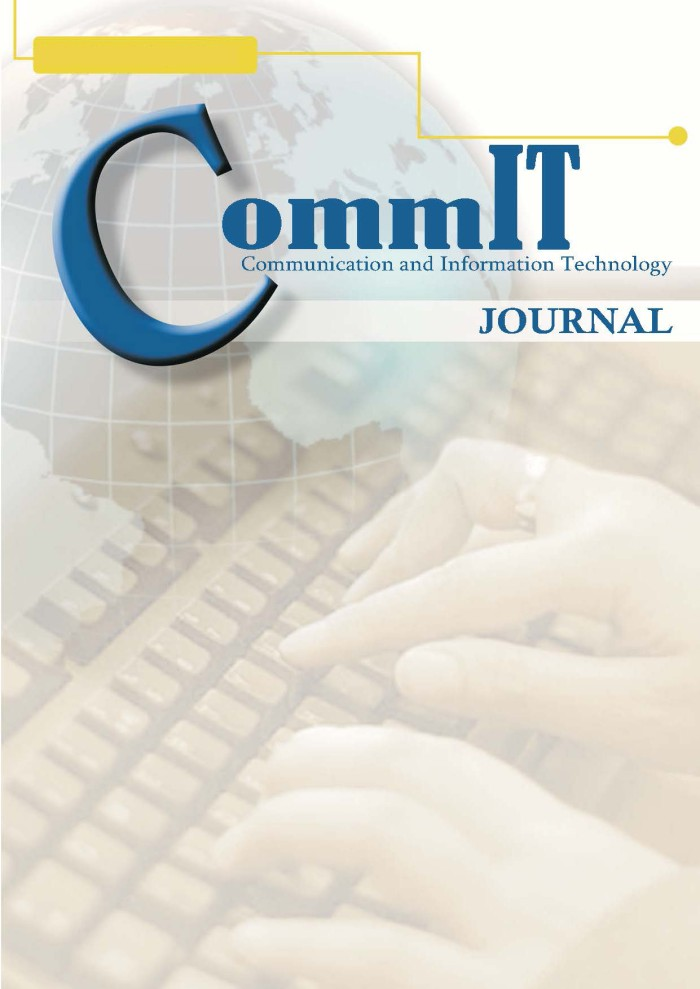 Journal CommIT Vol. 9 No. 1 (2015)