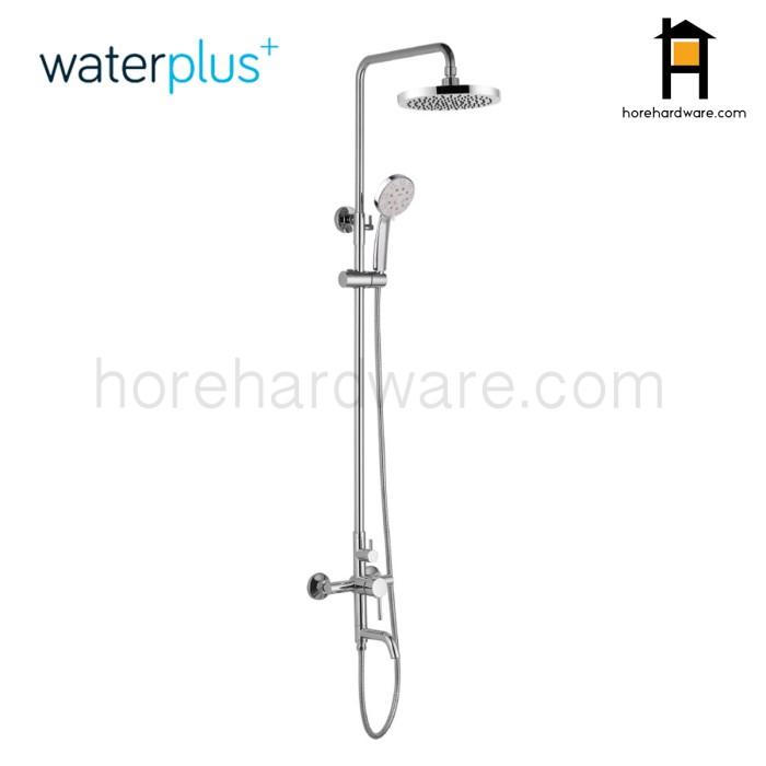 harga Waterplus shower column tiang set keran mixer panas dingin mrb 031 Tokopedia.com