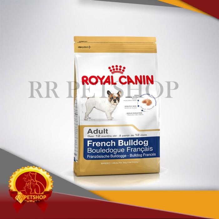 harga Makanan anjing bulldog prancis - royal canin french bulldog 3kg Tokopedia.com