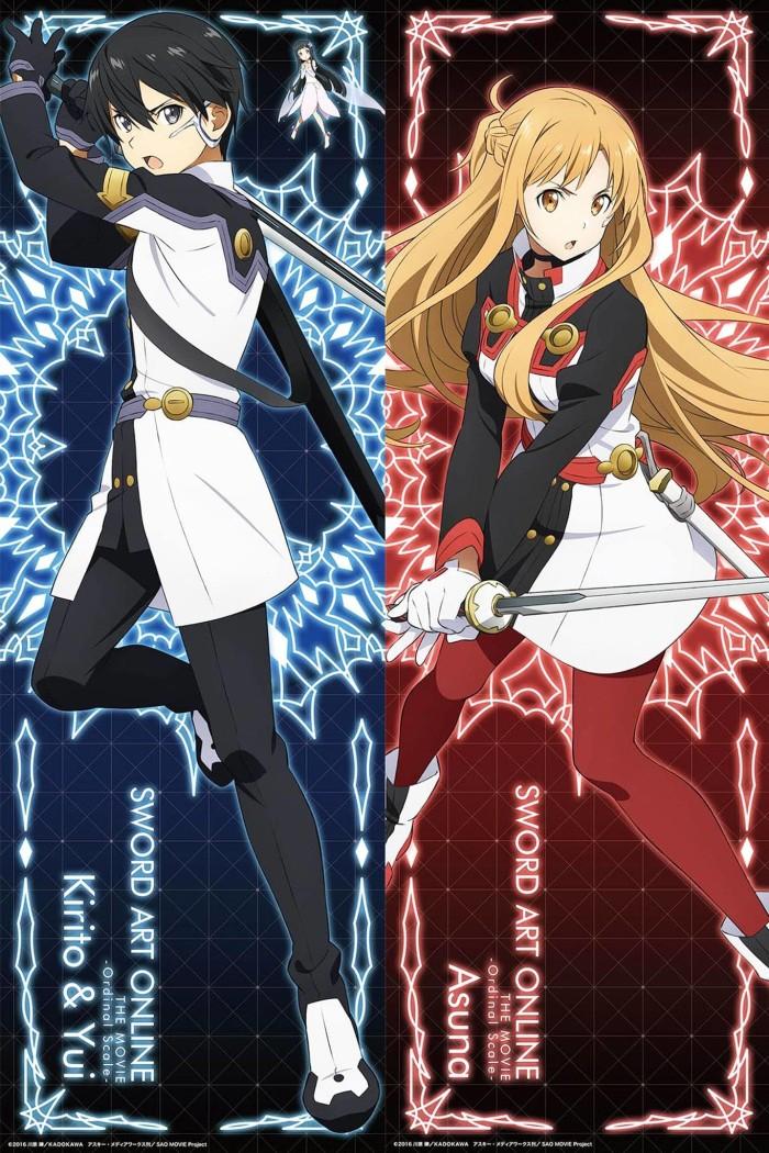 Jual Poster Kirito Asuna Sao 023 Kota Medan Ghoul Anime Shop Tokopedia