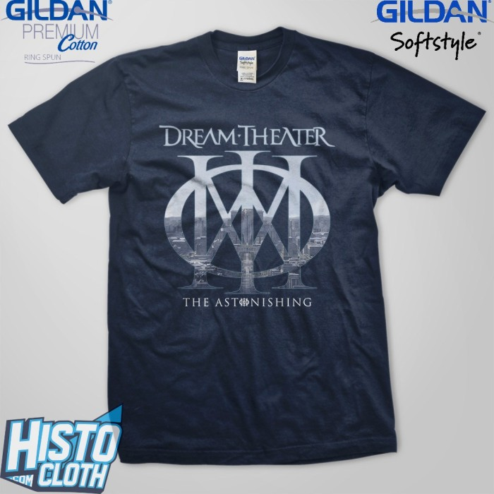 harga Kaos band rock dream theater the astonishing  - dt37 nv Tokopedia.com