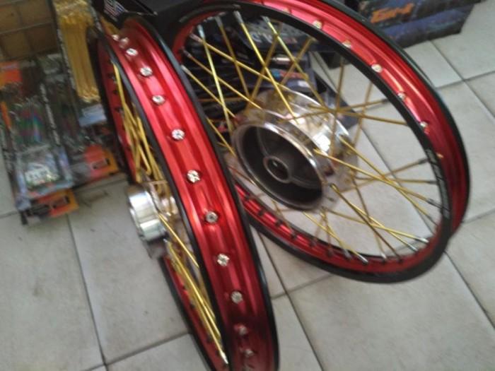 harga Paket velg tdr vixion new 140 140 17 free stell velg Tokopedia.com