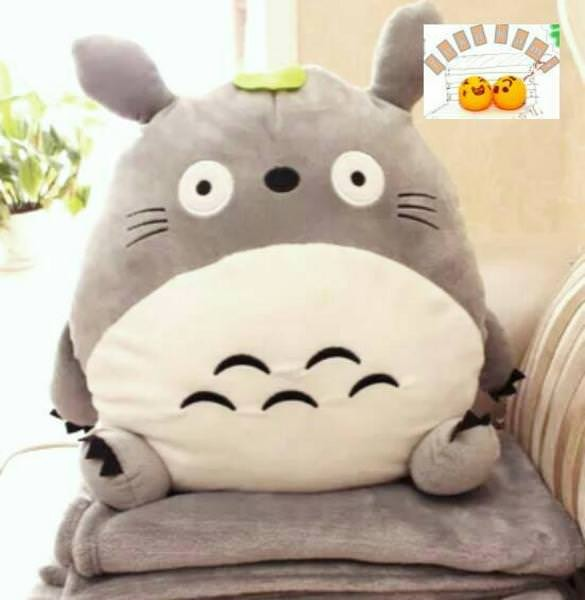 Foto Produk 03 - Balmut Totoro Boneka Balmut Bantal Selimut Bonmut Totoro dari DKB Shop