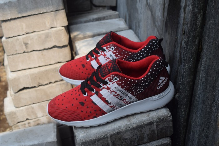 separation shoes 29cb7 aa74e SEPATU SPORT ADIDAS ADIZERO KNIT 2.0 MERAH HITAM  OLAHRAGA - Merah, 40