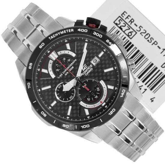 jam tangan pria casio edifice EFR 520SP 1AV
