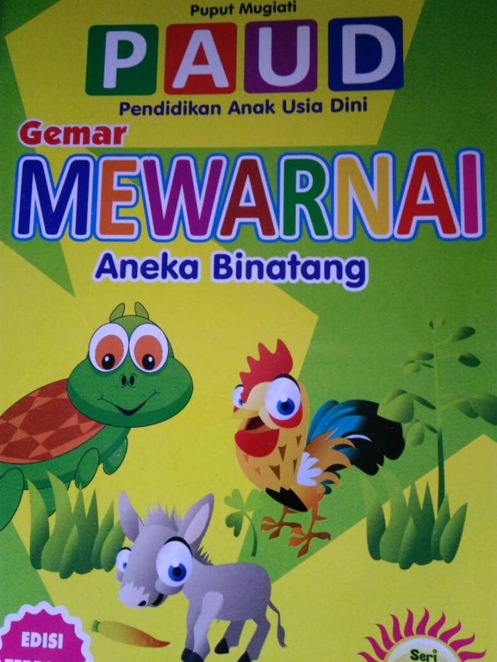 Jual Buku Anak Tk Gemar Mewarnai Aneka Binatang Kab Sidoarjo