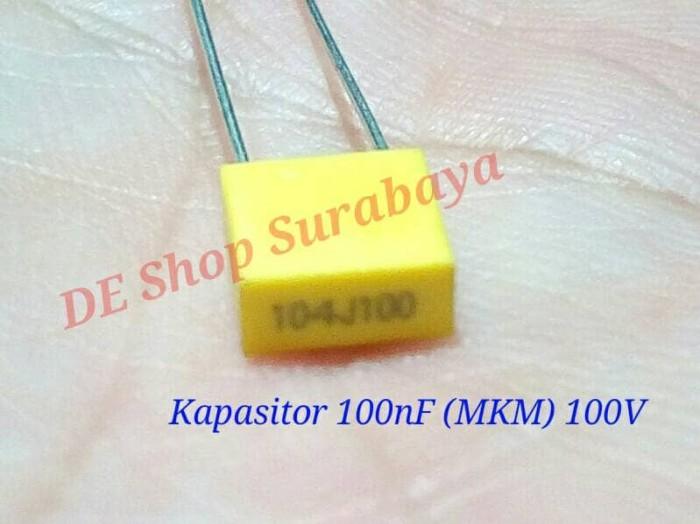 Foto Produk Kapasitor 100nF (MKM) capasitor 104 dari Hobi Elektronika