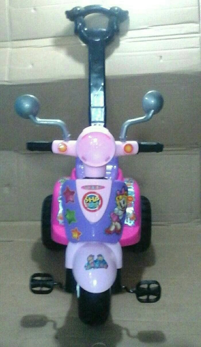 Jual Shp Scooter Sepeda Roda Tiga Mainan Anak Vespa Mini Mobil Motor