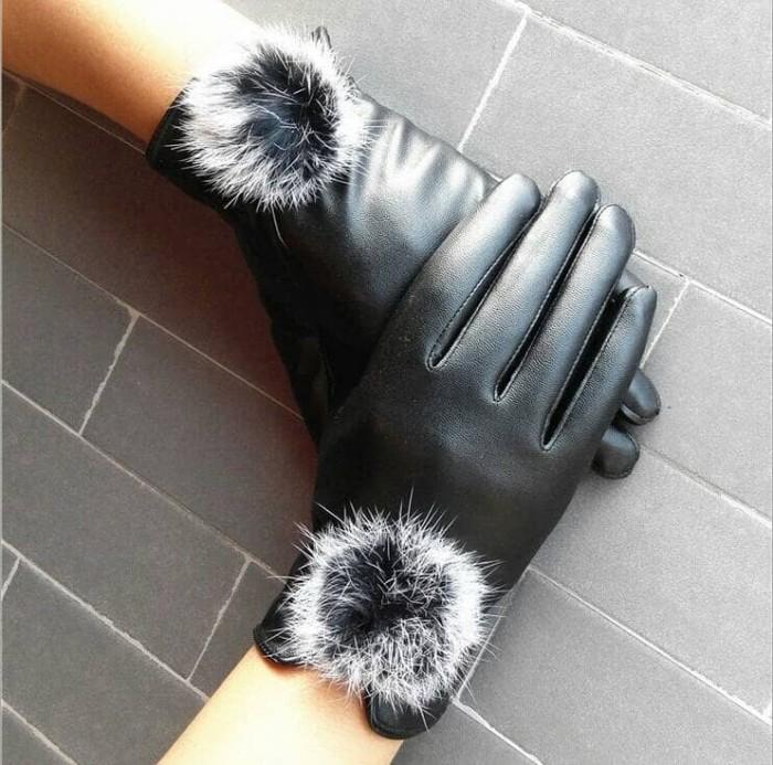 harga Sarung tangan kulit wanita / d-01 Tokopedia.com