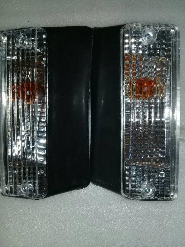 harga Lampu bemper sen kijang grand kristal 1set Tokopedia.com