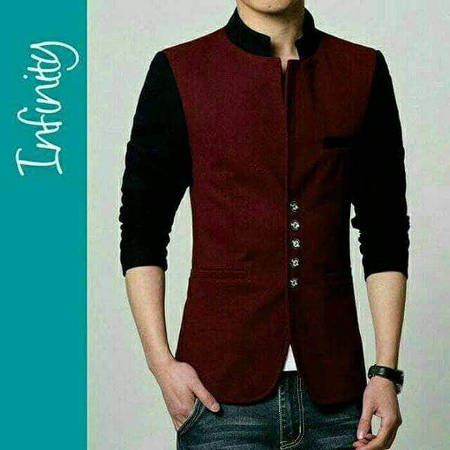 harga Jas resmi jas murah blazer pria casual blazer maroon blazer korea Tokopedia.com