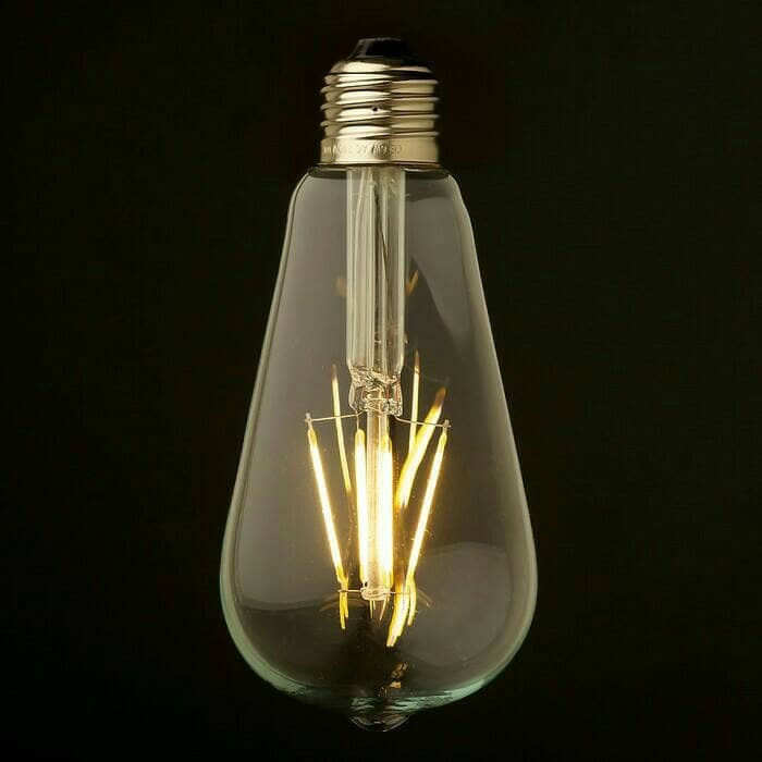 Philips Led Classic 75w A60 E27 Dimmable Cahaya Kuning Page 3 Source · Lampu bohlam edison
