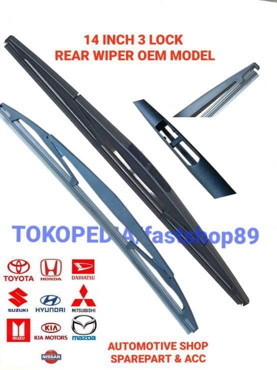 harga Wiper belakang model oem 14 inch 3 lock nissan murano - oem14h Tokopedia.com