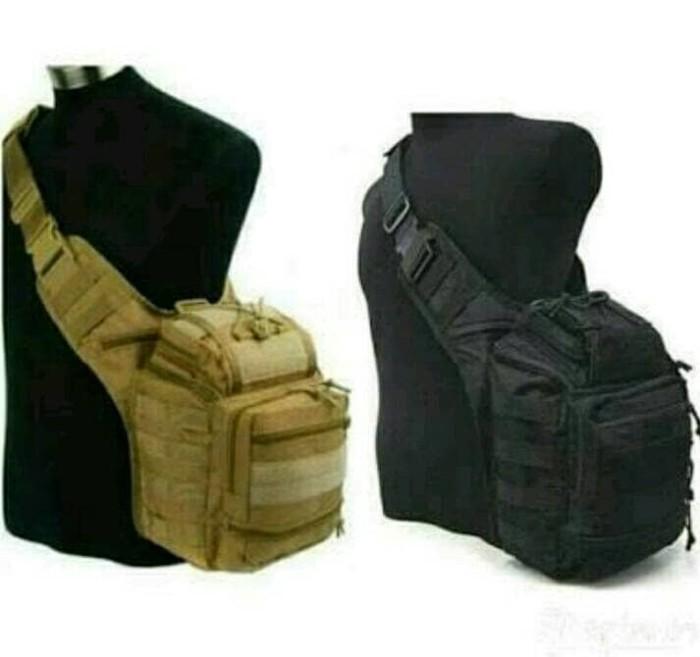 TAS SLEMPANG TACTICAL ARMY 803 IMPORT(Side bag,militer,polisi,outdoor)