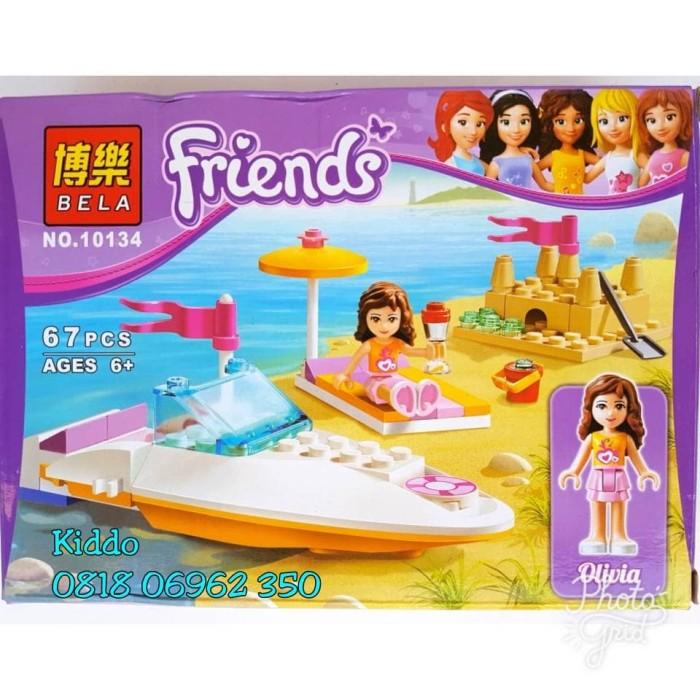 Jual Lego Friends Boat And Beach Emma Olivia Stephanie Mia