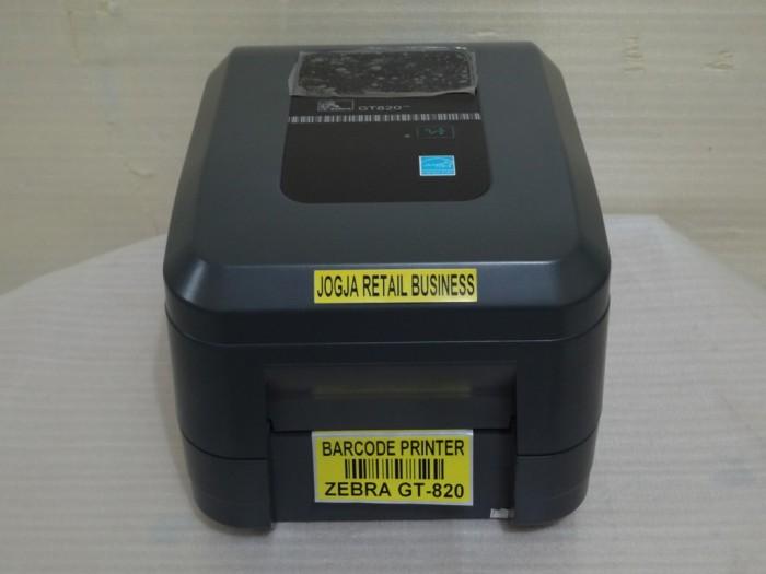 harga Barcode printer zebra gt 820 / gt-820 / gt820 ( harga promo ) Tokopedia.com