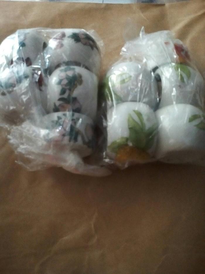 harga Cangkir keramik pleci satu set isi 5 import cina Tokopedia.com