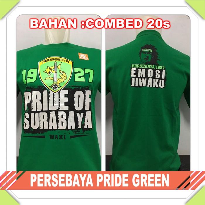 harga Kaos baju bola club indo persebaya pride green Tokopedia.com